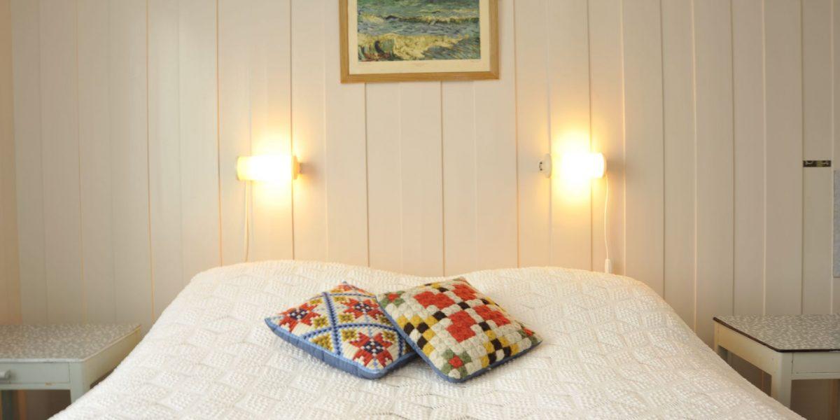 Detaljer fra en svunnen tid på Solheim pensjonat sine rom. Foto: Brendan Coote