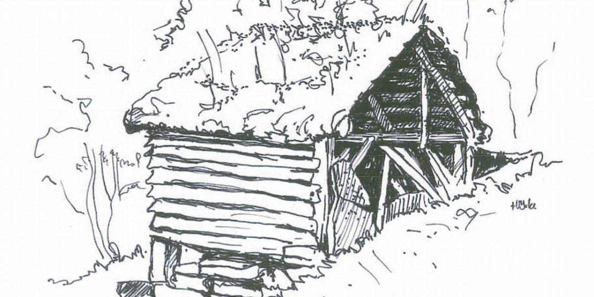 Illustrasjon av Jedlaløo. (Foto: Kulturminnefondet)