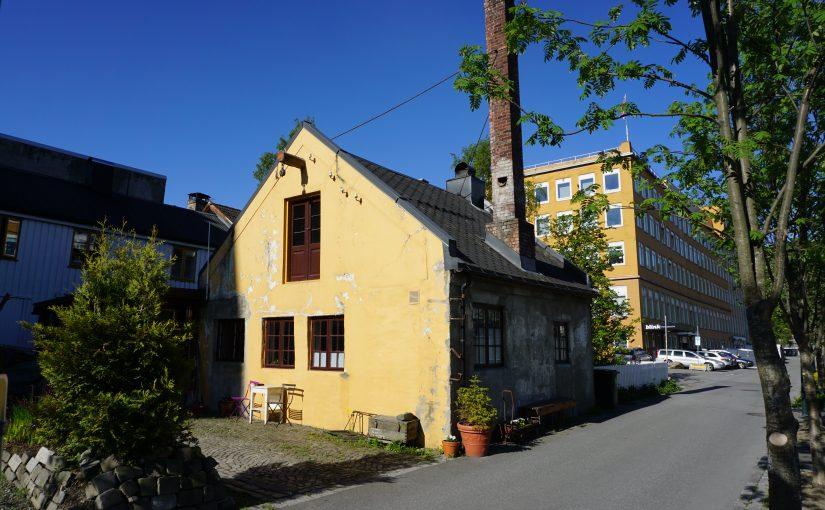 Det gamle røykeriet på Ila i Trondheim. (Foto: Helene Tiller/Kulturminnefondet)