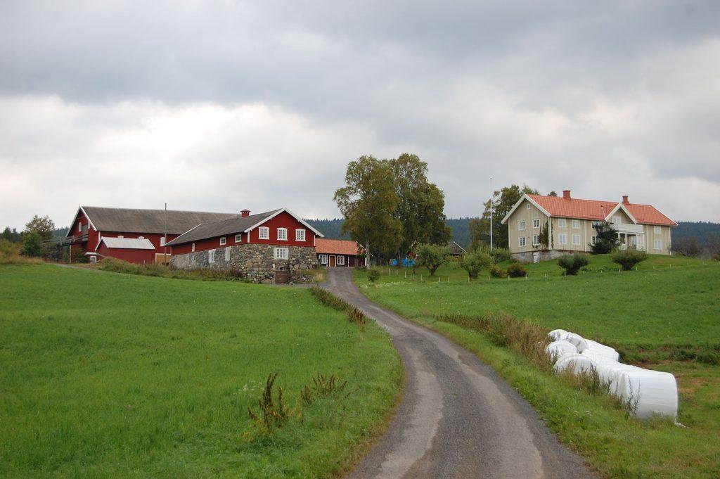 Hoelstad gård i Ringsaker, Hedmark. (Foto: Kulturminnefondet)