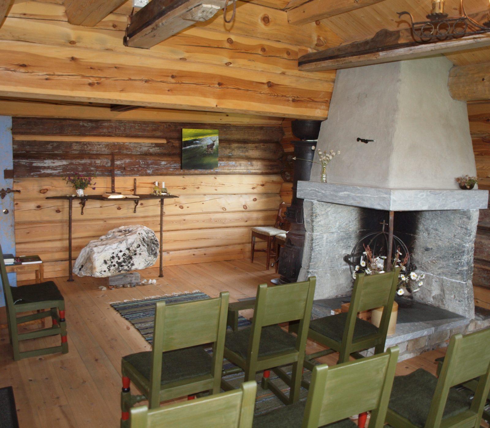 Guds Huset på Fokstugu fjellstue. Foto: Andrea Hånes/Kulturminnefondet