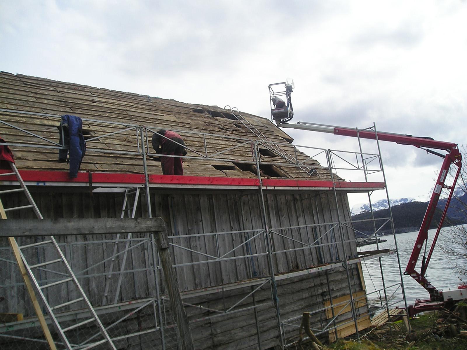 Kristoffernaustet på Lote i Sogn og Fjordane. Foto: Kulturminnefondet