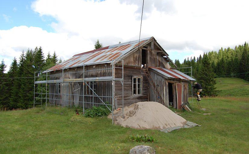 Skogfinneplassen Mikkelrud. (Foto: Einar Engen/Kulturminnefondet)