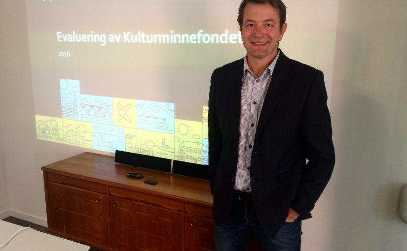 Evaluering viser god utvikling for Kulturminnefondet
