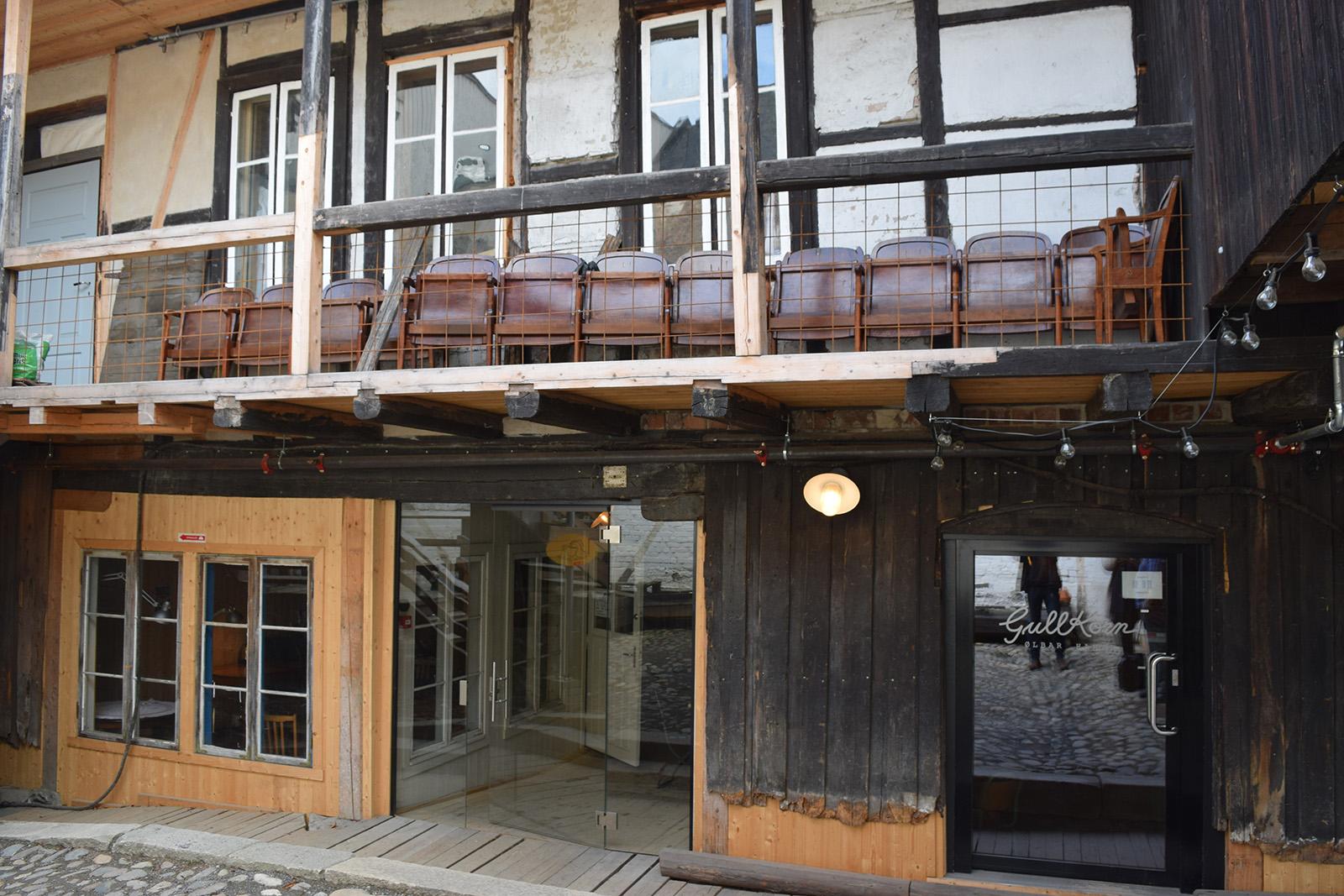 Røhnegården i Hamar sentrum. Foto: Kulturminnefondet