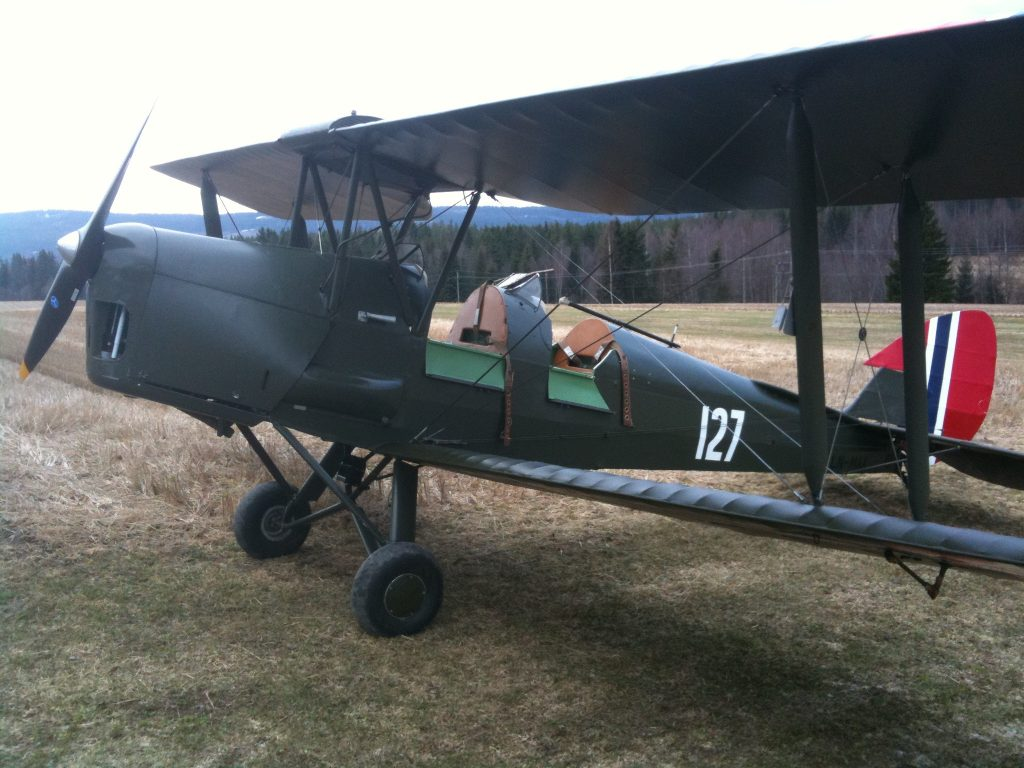 Tiger Moth. (Foto: Privat)