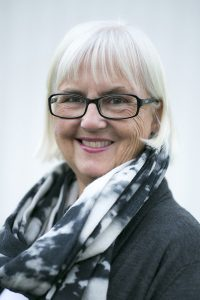 Helen Bjørnøy er styreleder i Kulturminnefondets styre.(Foto: Ingrid Blessom)