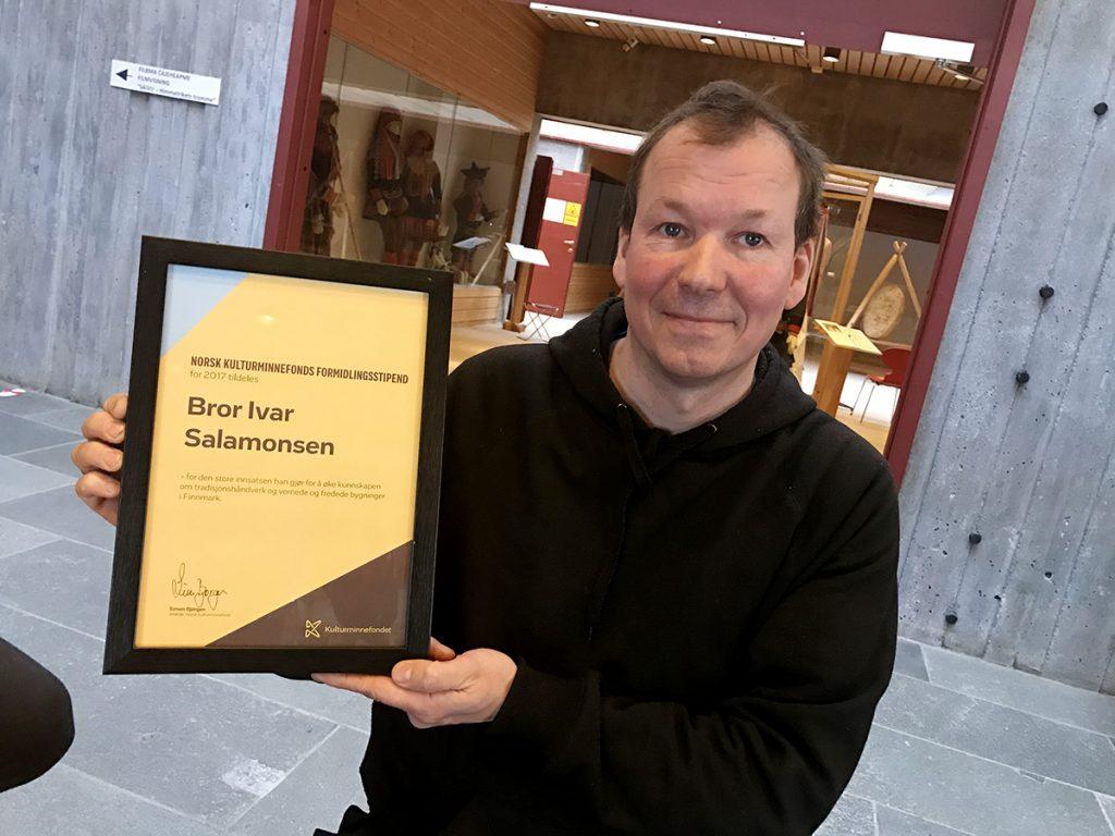 Bror Ivar Salamonsen. Foto: Kulturminnefondet/Linda C. Herud