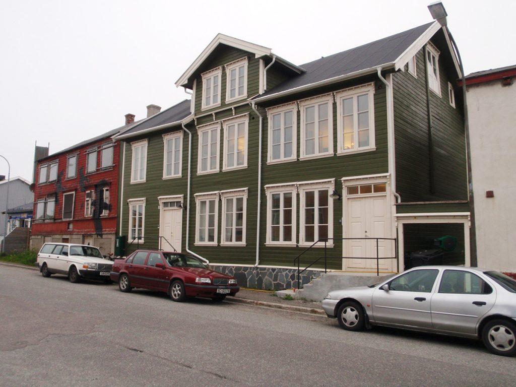 Husegården i Vardø i Finnmark. Foto: Kulturminnefondet/Helene Tiller.