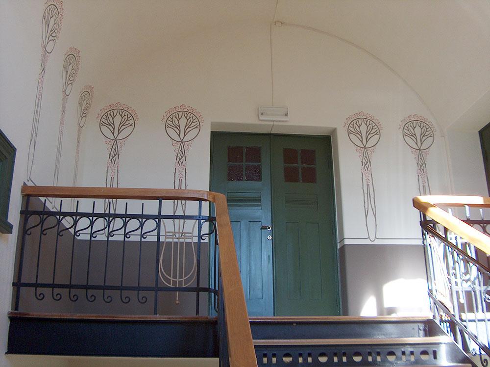 Interiør i jugendstil fra Ålesund. Foto: Kulturminnefondet