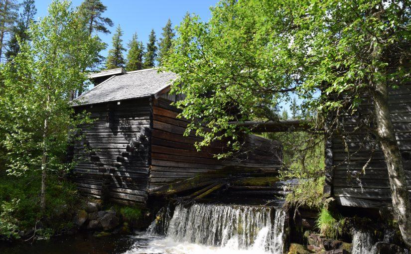 Da tømmerfløting var storindustri
