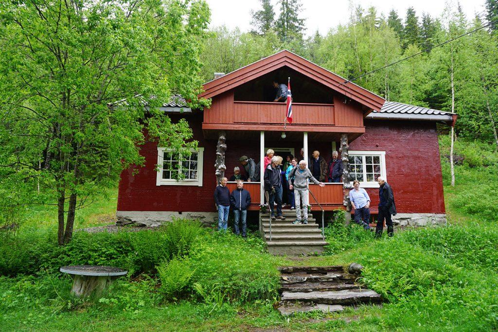 Lilandhuset når restaureringen var ferdig. Foto: Helene Tiller