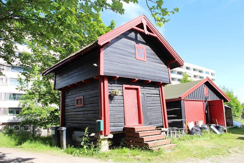 Stabburet på Stig gård i Oslo. Foto: Gunnhild Ryen/Kulturminnefondet