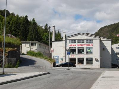 Arna Industrihus. Foto Einar Engen/Kulturminnefondet