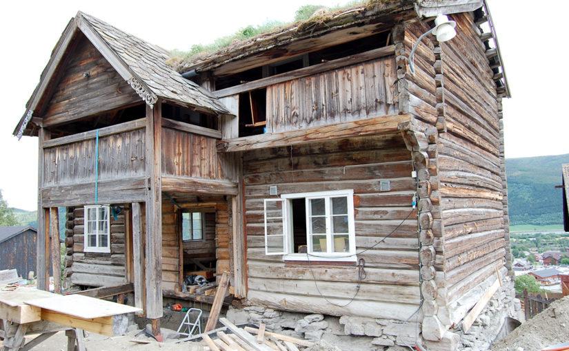 Nordigard Blessom før istandsetting. (Foto: Einar Engen/Kulturminnefondet)