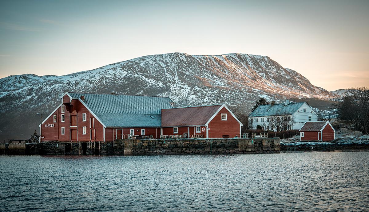Flåvær i Møre og Romsdal. (Foto: Bjørnar Torvholm Sævik)