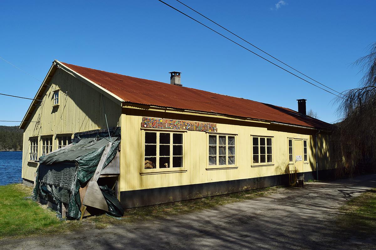 Støa leketøyfabrikk i Marnadal. (Foto: Einar Engen/Kulturminnefondet)