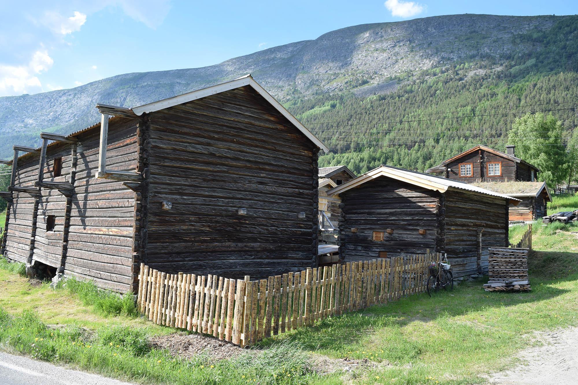 Kolstad gård. (Foto: Einar Engen/Kulturminnefondet)