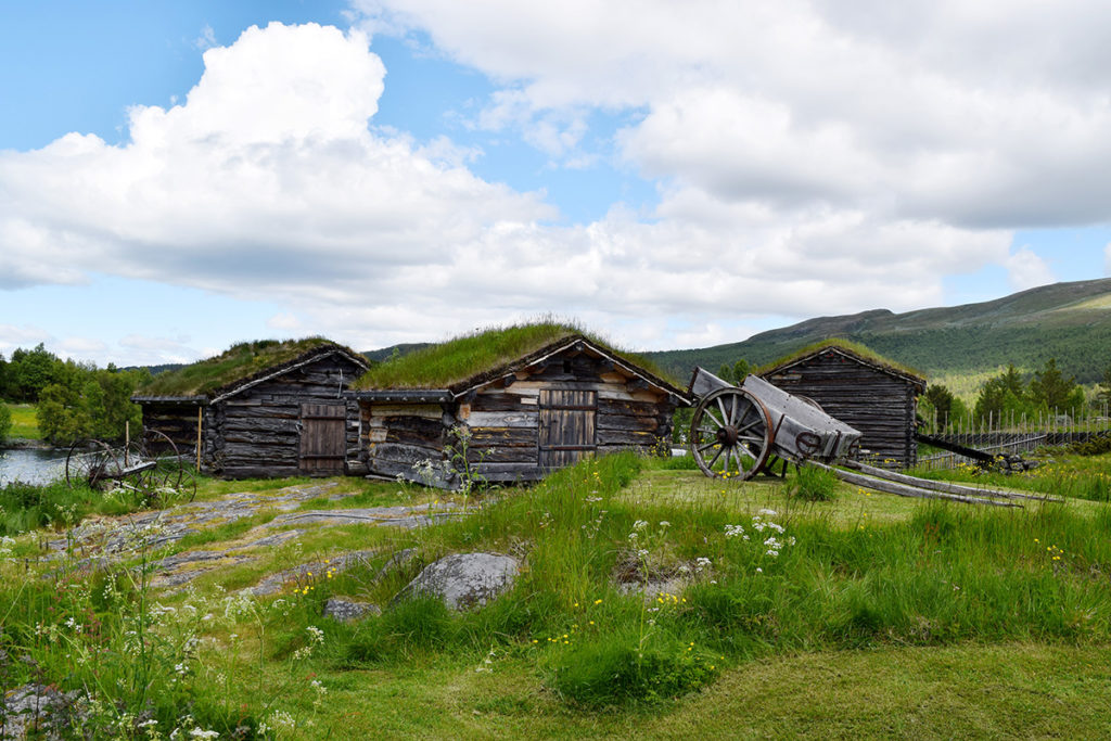 Kalven seter. (Foto: Einar Engen/Kulturminnefondet)