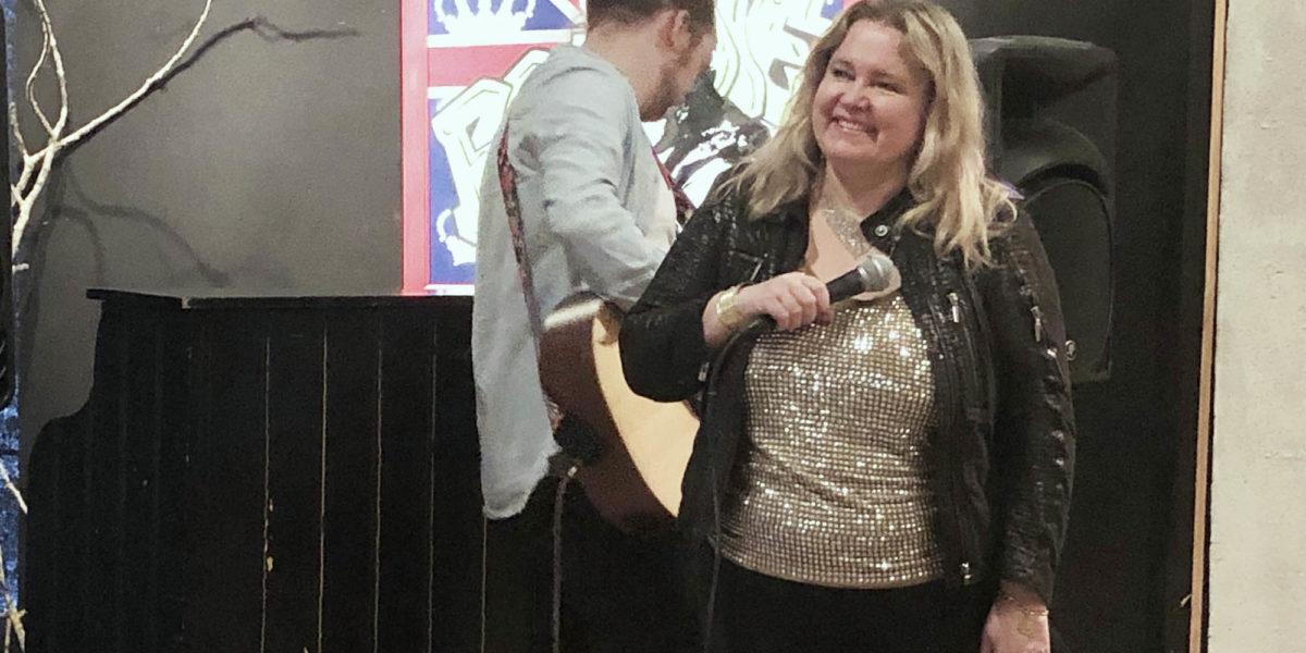 Anita Hegerland opptrådde på tildelingen som fant sted tidlig i 2019.  Foto: Kulturminnefondet