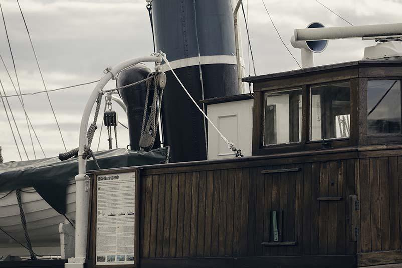 Kulturminnefondet har bidratt med 409.500 kroner i støtte til arbeidet med D/S Børøysund. Foto: Tom Gustavsen