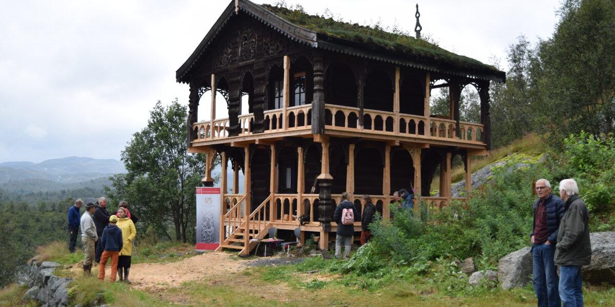 Loftet på Botn. Foto: Einar Engen/Kulturminnefondet