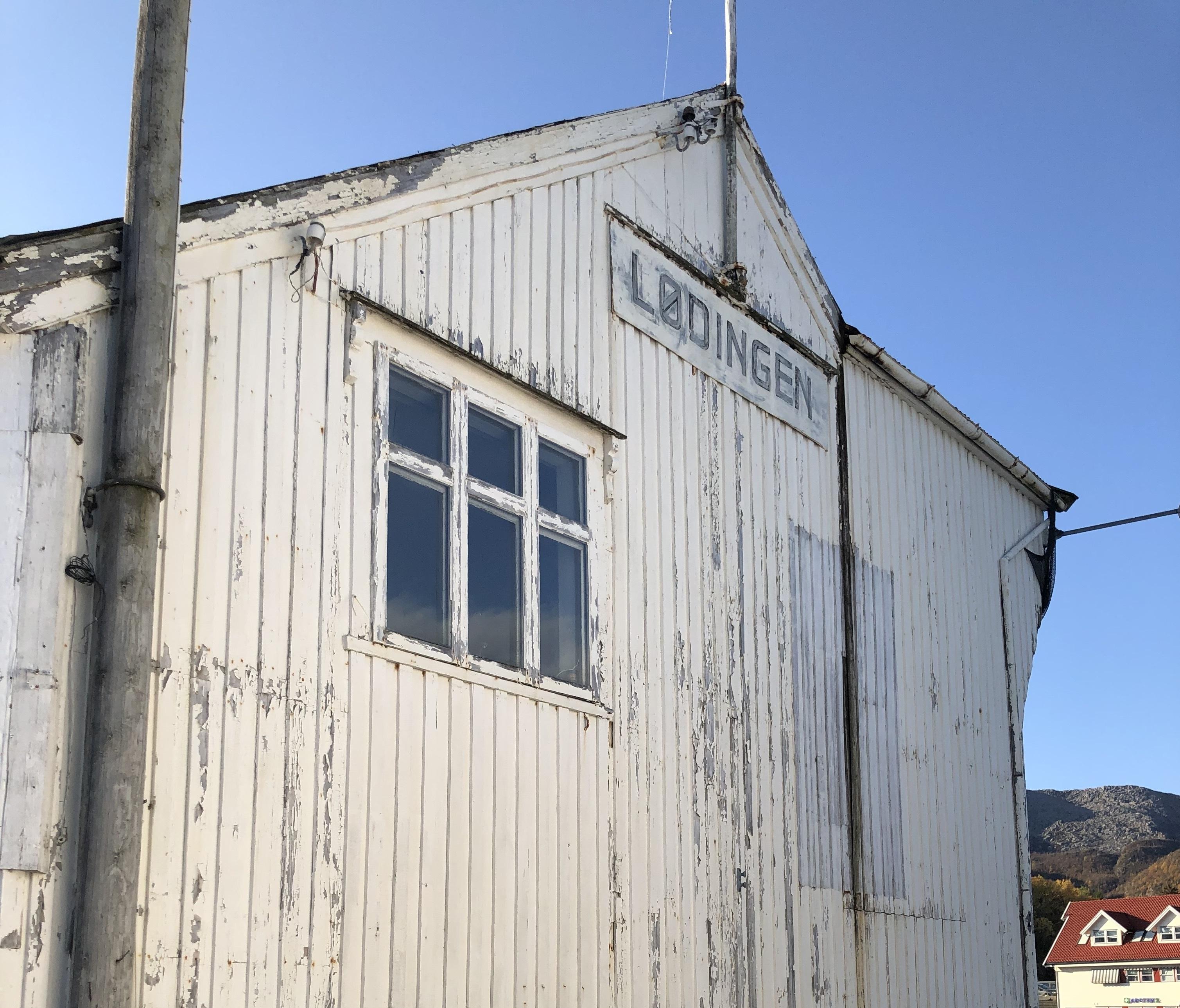 Dampskipsbrygga i Lødningen. Foto: Gunnhild Ryen/Kulturminnefondet