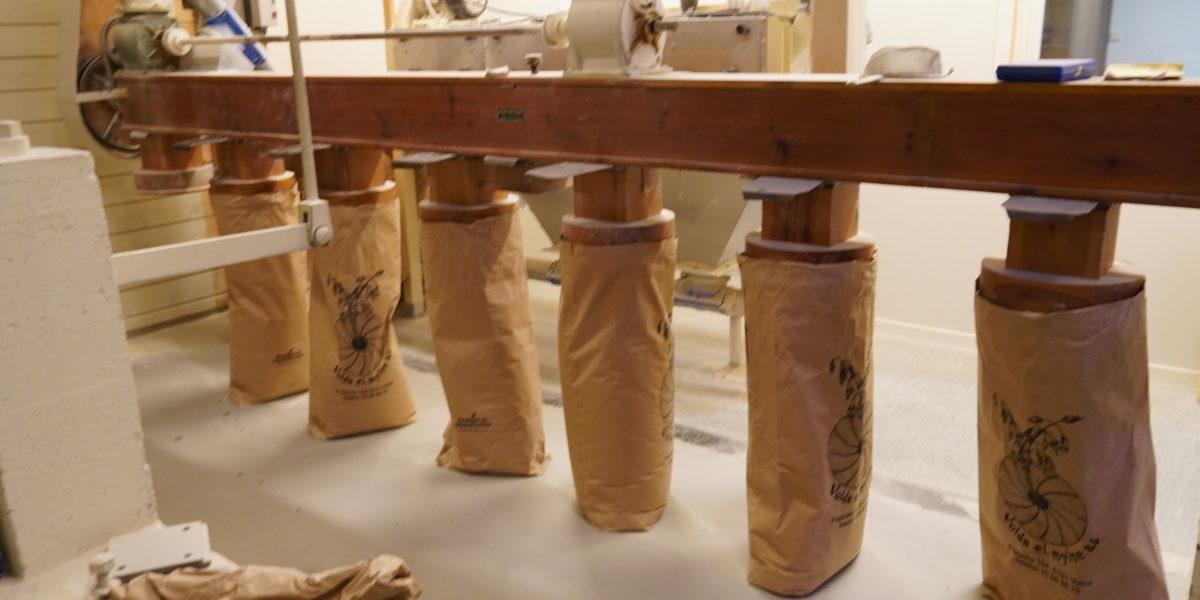 Mylnå held kulturarven vedlike med aktiv produksjon på den gamle måten. Foto: Line Lyngstad/Kulturminnefondet