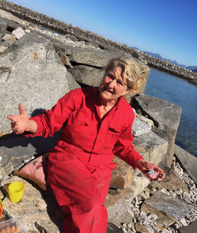 Aaslaug Vaa. Foto: Bodil Røvik-Larsen