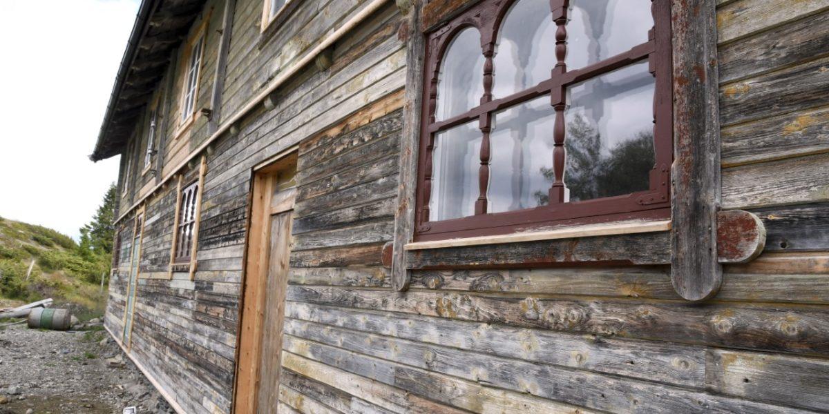 Valseter Pensjonat ble bygd på slutten av 1800-tallet og ble drevet som seter og pensjonat fram til 1950. Foto: Kristin Veskje