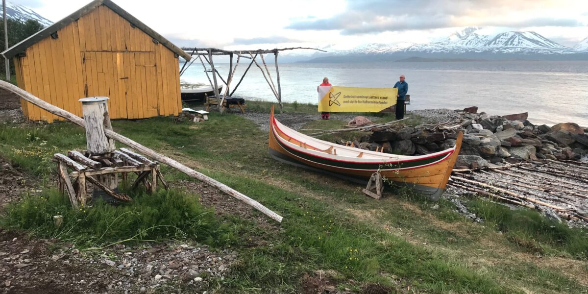 Naust Edmundgard i Kåfjord kommune