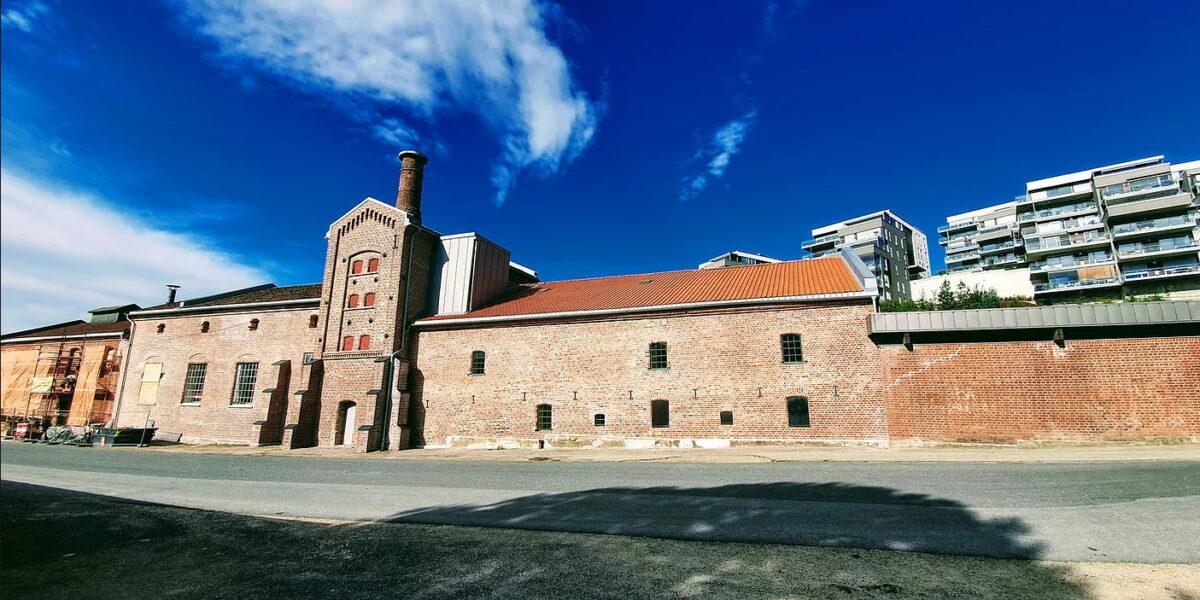 Fredrikstad Bryggeri fasade