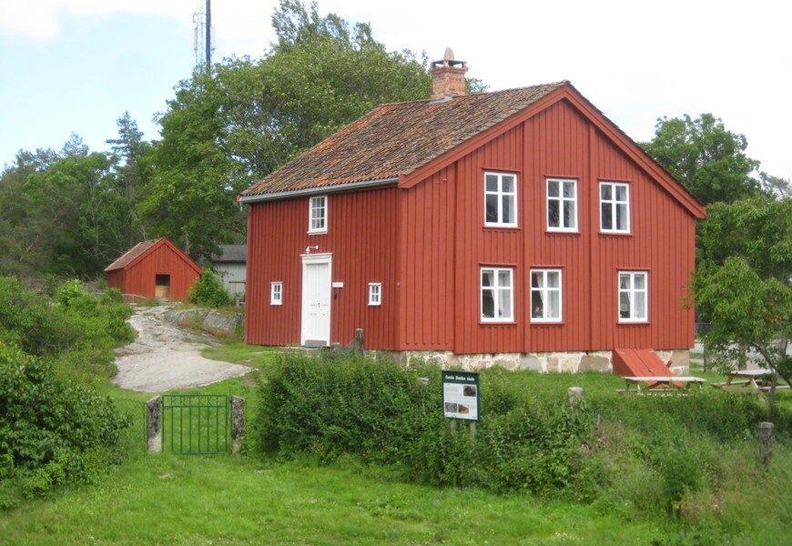 Bygningen har historie tilbake til 1770.