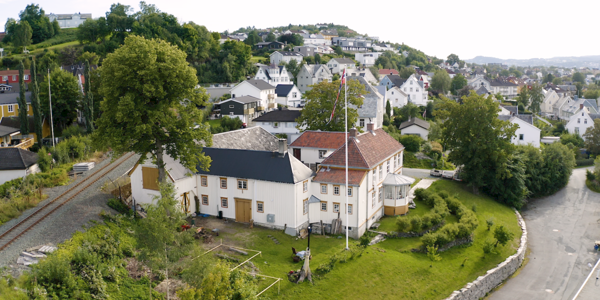 Saxenborg gård i Trondheim. Foto: Red Ant