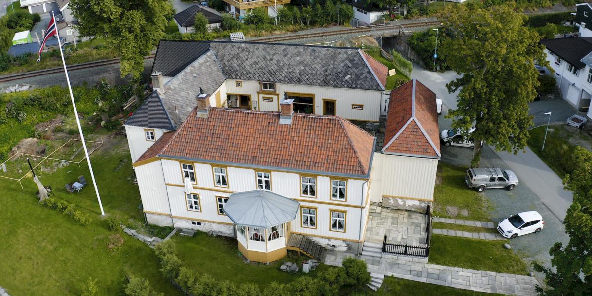 Saxenborg har en over 200 år lang historie. Foto: Red Ant