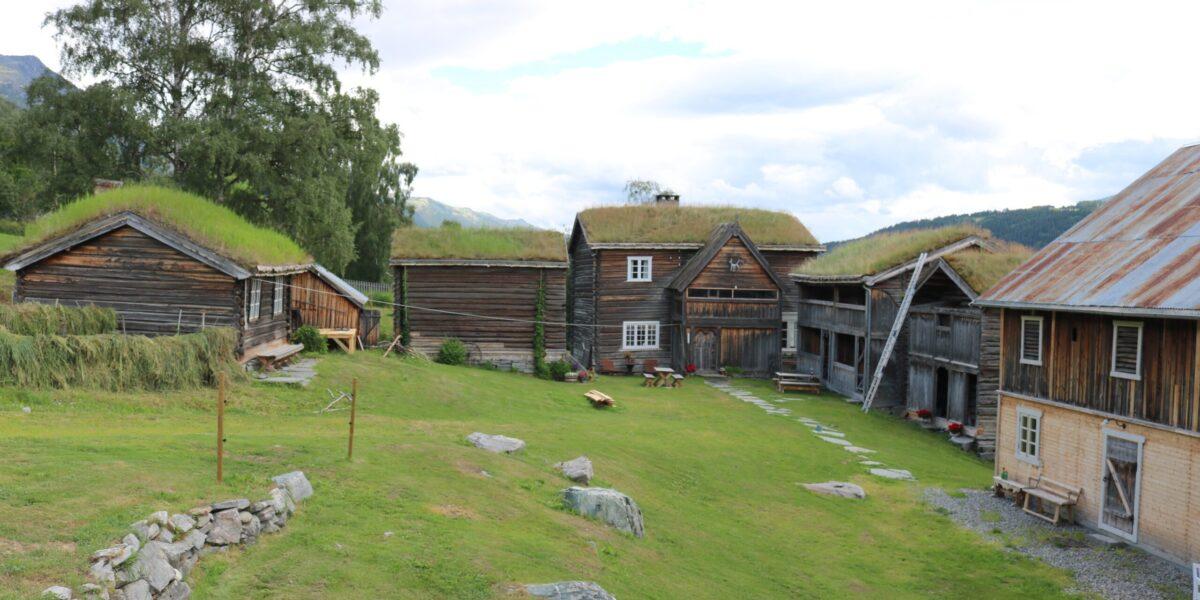 På Gardsøy er det ti hus, og kanskje blir det fleire etter kvart. Foto: Kjell Nyhus